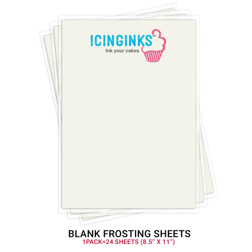 """photograph relating to Edible Printable Paper for Cakes referred to as Icinginksâ""""¢ Top rated Edible Sugar Sheets (8.5\"""