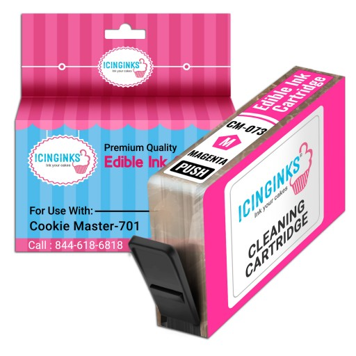Icinginks Refillable Magenta Edible Cleaning Cartridge CM