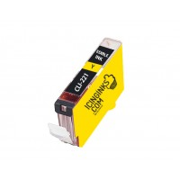 Icinginks™ Yellow Edible Ink Cartridge for Canon CLI-221Y With Chip