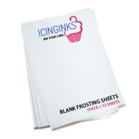 "Icinginks™ Prime Edible Sample Pack Regular Frosting Sheets (8.5"" X 11"") Pack - 12 sheets A4 size"