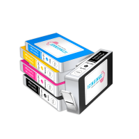 Icinginks™ Edible Ink Cartridge COMBO PACK for Canon CLI-251/PGI-250 XL's Series With Chip (5 pack) High Yield